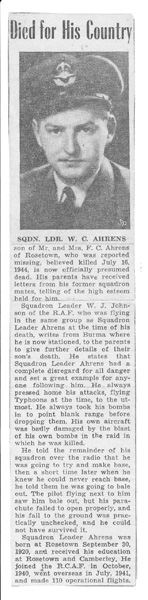 Newspaper Clipping