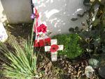 Grave Marker– Walter's grave (L. Pommen,Sept 2011)