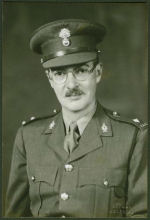 Photo of Gerald Wentworth Roy Dillon– Captain Gerald Wentworth Roy Dillon courtesy McGill University archives