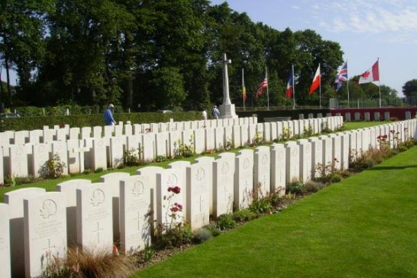 Cemetery– Dieppe Canadian War Cemetery - August 2012 Photo courtesy of Marg Liessens