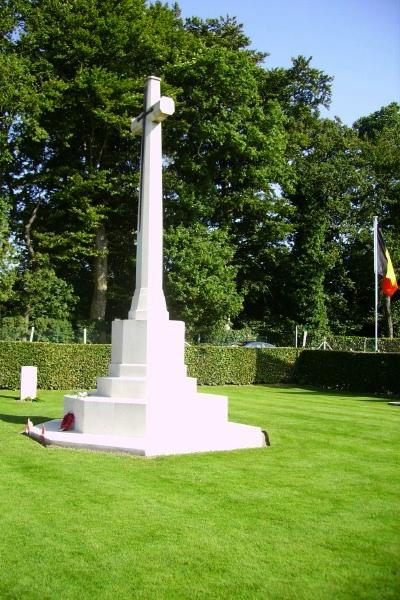 Cemetery– Cross of Sacrifice - Dieppe Canadian War Cemetery - August 2012 Photo courtesy of Marg Liessens