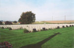 Cemetery– The Dieppe Canadian War Cemetery, located just outside Dieppe, France.  (J. Stephens)