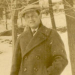 Photo of Daniel McNerney– Dan in High Park, Ontario in 1923