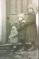 Photo of JOHN HERBERT ROBERTS– Lillian, Herbie (John) and Margaret. Submitted for the project, Operation Picture Me