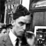 Photo of Louis Max Lavallee– Louis on leave during the war in London, England.