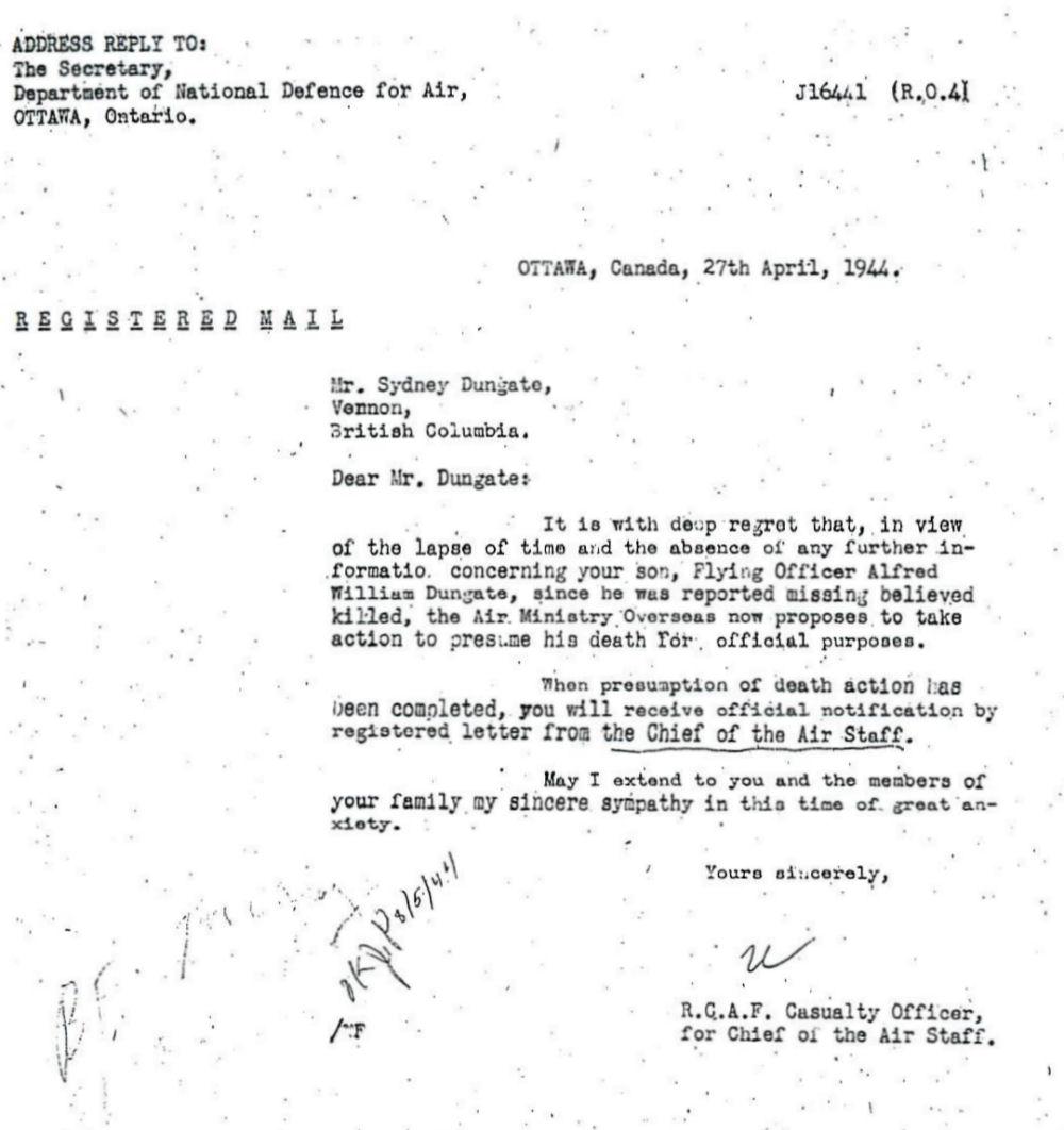 Letter (April 27, 1944)