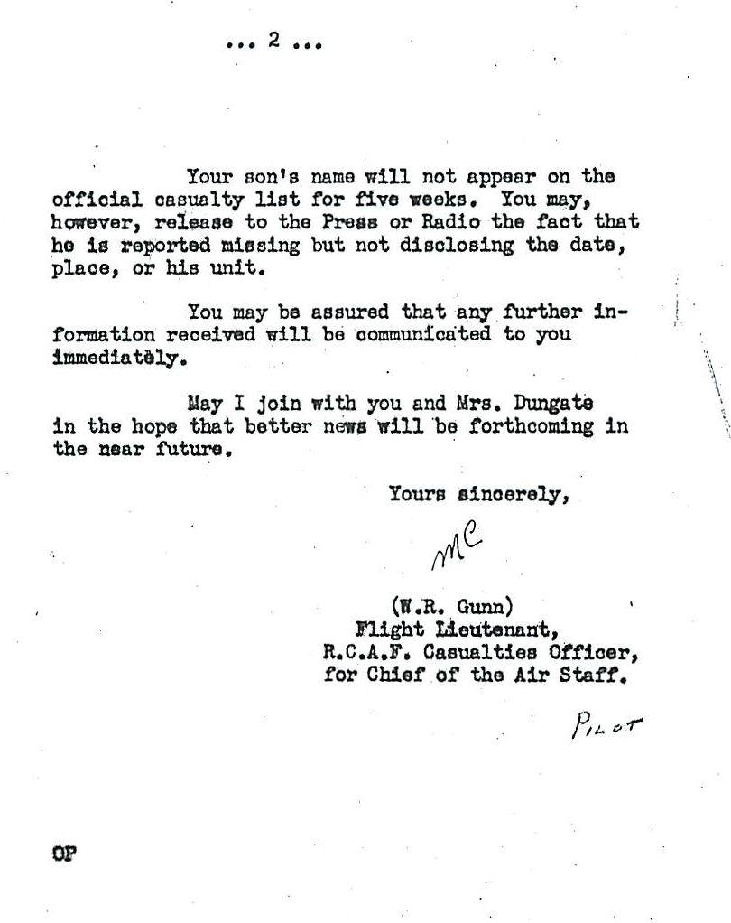 Letter (November 8, 1943)– Letter