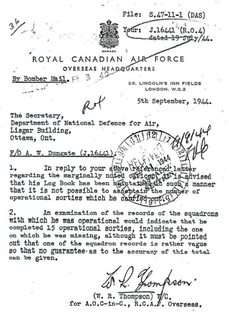 Letter (September 5, 1944)