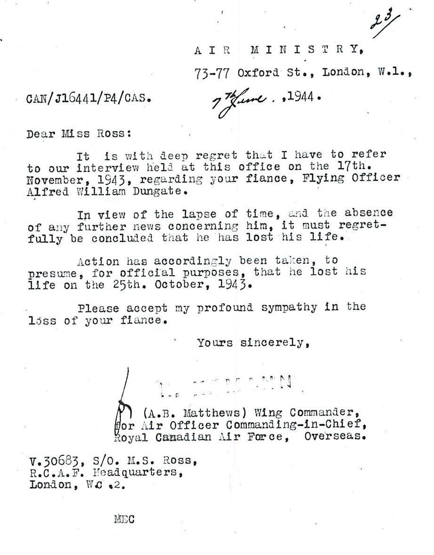 Letter (June 7, 1944)