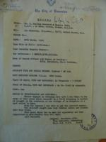 Document– Details of finding crash site, LAC, Ottawa