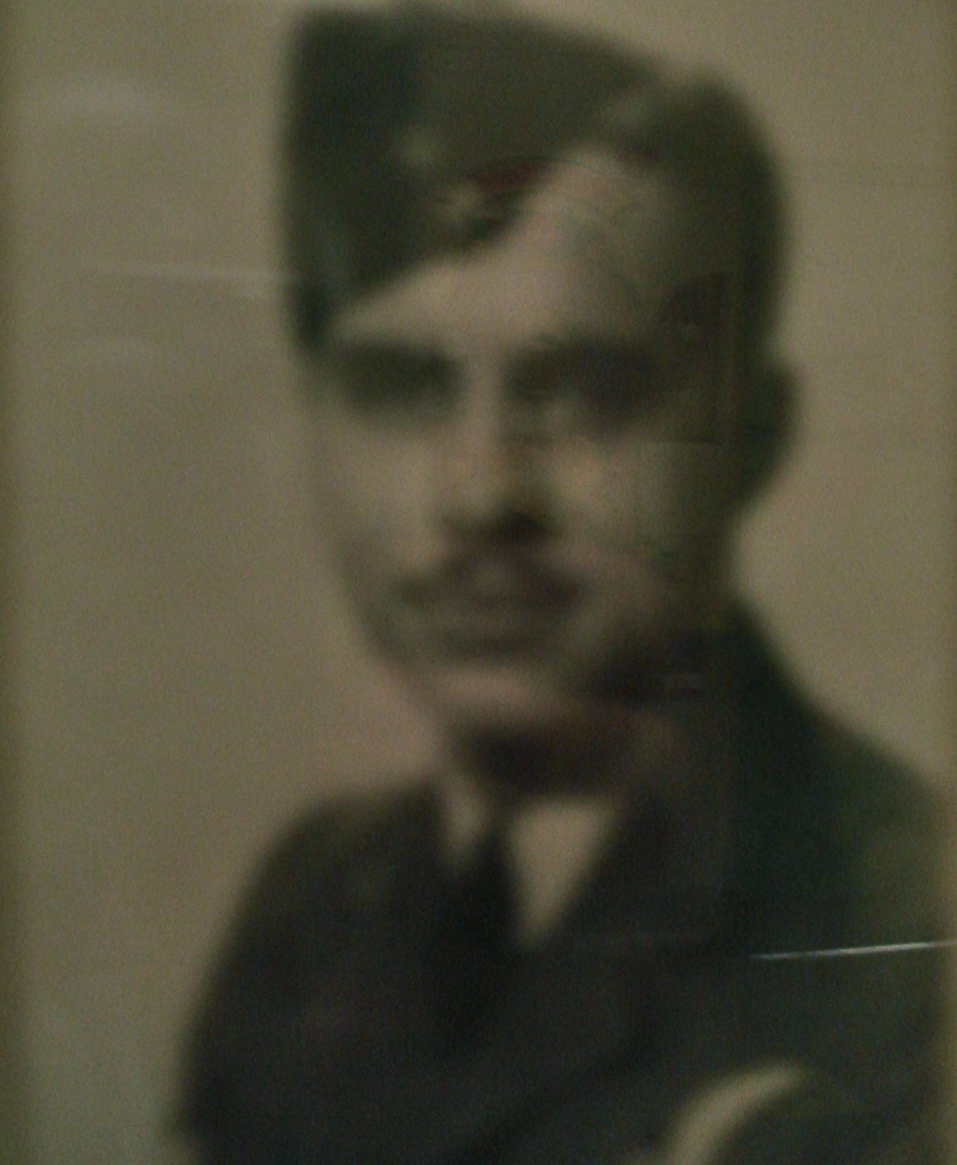 Photo of Edwin Ecclestone– In memory of the students from Western Technical School, Toronto who served during World War II and did not return. Submitted for the project, Operation: Picture Me.