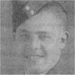 Photo of Howard Elmer Eddy– Flight Sergeant Howard Elmer Eddy