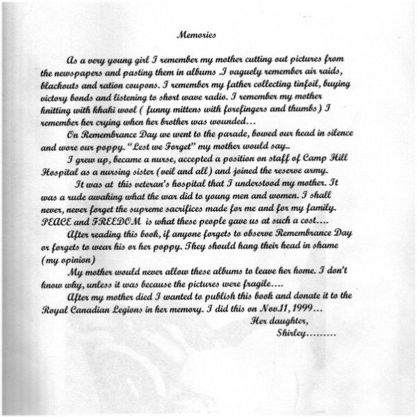 Commemorative Poem