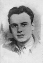Photo of Raymond Alix– In memory of Raymond Alix who died on August 8,1944 in France at the age of 21.  He is buried in the Bretteville-sur-Laize Canadian War Cemetary.  We will never forget.