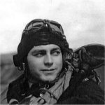Photo of Ernest James Allen– Died on August 12, 1944 while based at Lantheuil, France.