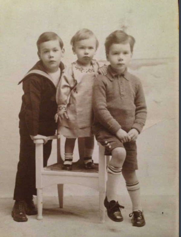 Photo of Edward, Roger and John