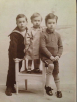 Photo of Edward, Roger and John– Submitted for the project, Operation Picture Me