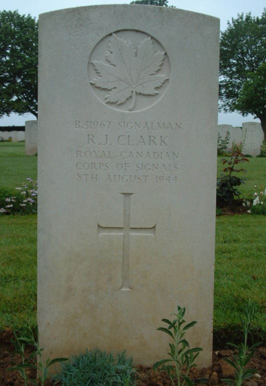 Gave Marker– Bretteville-Sur-Laize Canadian War Cemetery Calvados, France
