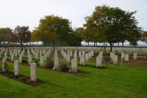 Bretteville-sur-Laize Canadian War Cemetery– Photo courtesy of Marg Liessens