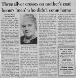 Newspaper Clipping– Provided by John Stephens