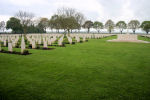 Cemetery– The Bretteville-sur-Laize Canadian War Cemetery, located 20 kilometres south of Caen, France.  (J. Stephens)
