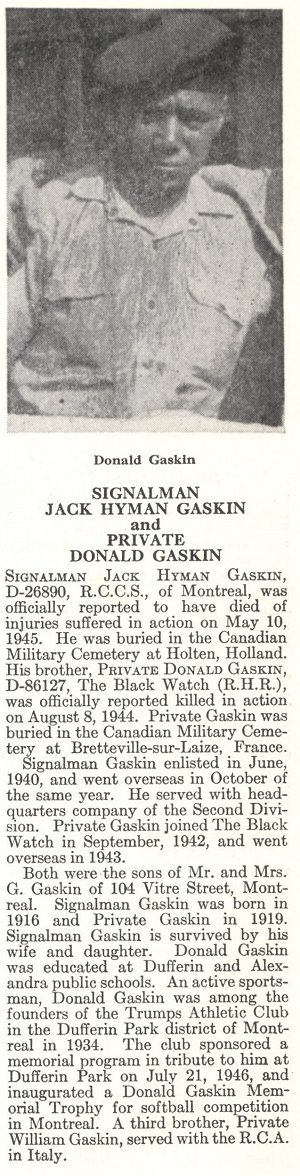 Photo of Donald Gaskin