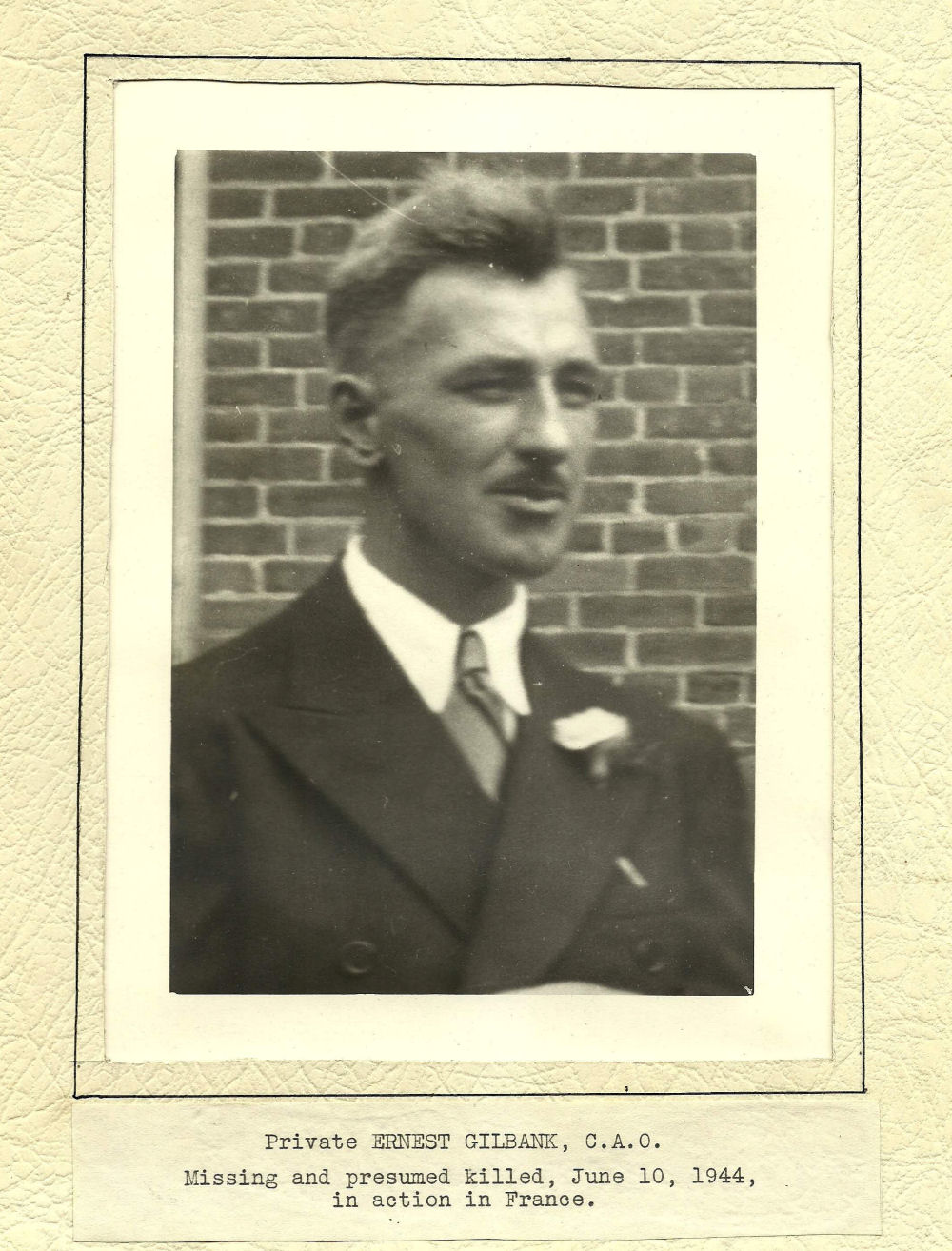 Photo of Ernest Gilbank