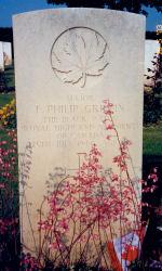 Grave Marker– Taken by a friend 2003.