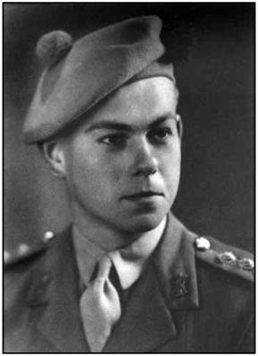 Photo of Frederick Griffin– In memory of the students from the University of British Columbia who went to war and did not return. Submitted for the project, Operation: Picture Me.