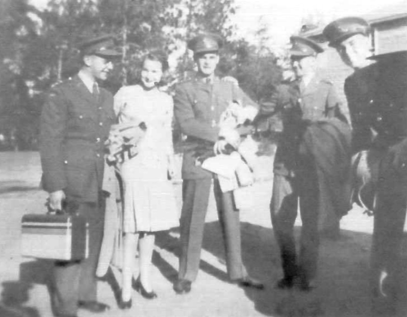 Group Photo– John, Ginny Rutland, Lyman Henderson, Deck Lesser and Tom Jarvis. Submitted for the project, Operation Picture Me
