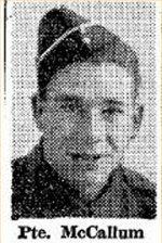 coupure de presse – Source:  Hamilton Spectator, le 26 août 1944