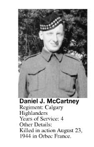 Photo of DANIEL JOSEPH MCCARTNEY