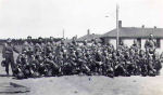 Photo of Hugh Alphonse MacInnis– Hugh and his regiment at Training Camp at Aldershot, N.S.