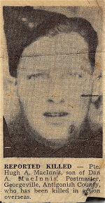 Newspaper clipping– The Battle of Verrières Ridge, was part of Operation Atlantic (July 18-20) and Operation Spring (July 25-27).