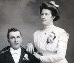 Daniel and Martha MacInnis– Daniel Alexander (D.A.) and Martha (MacEachern), Hughie's parents, married at Holy Rosary Church, 