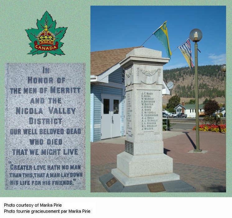 Merritt War Memorial
