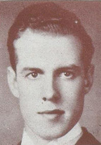 Photo of James McKague– Photograph of McKague from Torontonensis, University of Toronto's yearbook in 1939