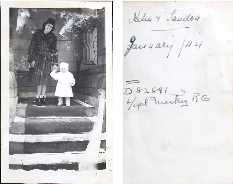 Photo– It is unknown who this is. The photo was found in Robert's military service file. Submitted for the project Operation Picture Me