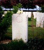 Grave marker for J.W. Macneill