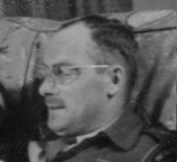 Photo of Wallace Spence MacPherson– Major W S MacPherson - picture taken by Capt. C A Conway Algonquin Regiment in Sussex, England 1943