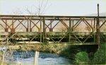 Pont Bailey en France – Un des derniers ponts qui rest au Calvados