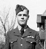 Photo of William Harold Morrison– Flying Officer William Harold Morrison in Montreal