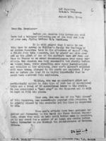 Circumstances of Death– Circumstances of Morrison's death, in letter from LAC, Ottawa.