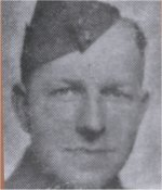 """Photo of Franklin Murray– Cecil Pittman travelled with the Royal Winnipeg Riffles Association when they participated in the 40th Anniversary of the D day tour to the Normandy beaches (Juno Beach) in 1984, the Royal Winnipeg Riffles """"pilgrimage"""" tour in 1989, the year the memorial was unveiled in the little village of Audrieu and the Royal Winnipeg Riffles 50th Anniversary tour in 1994. He also attended the unveiling ceremonies of the Juno Beach Memorial located in Normandy, France in June of 2003.  Mr. Pittman has researched information through the National Archives, military histories, former veterans and from any other materials he can locate. In 2002, he completed 104 stories for the Manitoba Geographical Names Program (Lakes, Rivers, Islands, etc are named after Manitoba's world War II and the Korean Conflict casualties) Several soldier's photo from his collection were included with these stories in the Map Branch's publication """"A Place of Honour"""".  (Notes taken from the Cecil Pittman's photo collection)"""