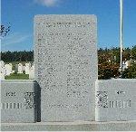 Springbrook War Memorial– This war memorial is located in Springbrook, Prince Edward Island.