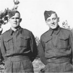 Photo of David Seitz– David Seitz(on right). Photo taken with my father Victor Ralston somewhere in Holland in 1944 shortly before David's death.
