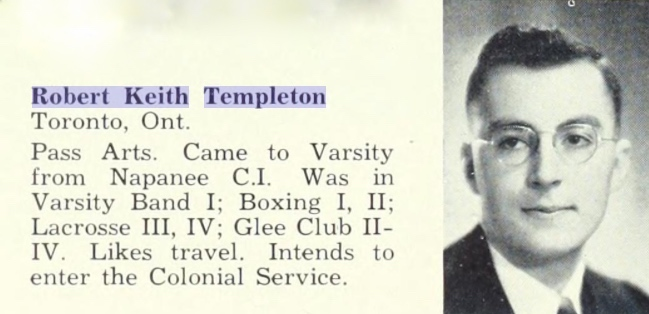 Photo of ROBERT KEITH TEMPLETON– Submitted for the project Operation Picture Me