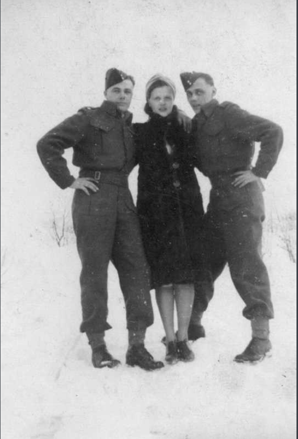 Group Photo– Joseph, Florence and Stanley Thorpe. Submitted for the project Operation Picture Me