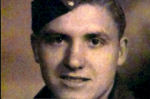 Photo of Earl Tilson– Tilly was killed during the closing of the Falaise Gap. At 22 years old he was KIA on his first day in combat.