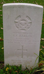 Pierre tombale – Photo fournie gracieusement par The Commonwealth Roll Of Honour Project. Volontaire Colin Jones